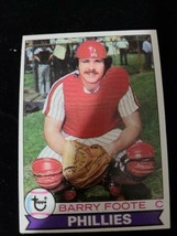 1979 Topps Philadelphia Phillies Baseball Card #161 Barry Foote - EX-MT - $0.98
