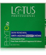 Lotus Professional Phyto Rx Skin Renewal Anti Ageing Night Cream, 50 gm - $20.56