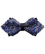 Luxury Angular Neckties Man's Super Set Auger Bow Ties Fashion Bowtie Ro... - £8.81 GBP