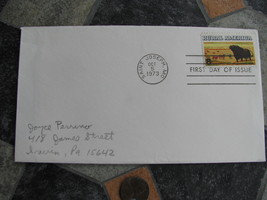 USA FIRST DAY OF ISSUE STAMP COVER Rural America Saint Joseph Missouri1973 - $9.98