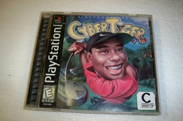 CYBERTIGER CYBER TIGER WOODS GOLF PLAYSTATION 1 PS1  - $6.89