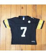 Reebok Pittsburgh Steelers Ben Roethlisberger #7 Jersey Youth XL - $18.82