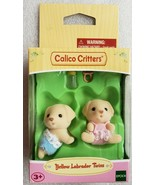 Calico Critters Yellow Labrador Twins Epoch - $9.89