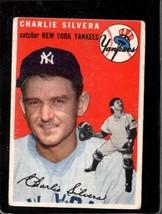 1954 Topps #96 Charlie Silvera Good+ Yankees *X13405 - $4.50