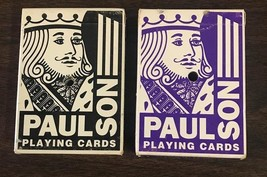 Casino Aztar Paulson Playing Cards Game Used 2 Decks 2001 Caruthersville MO - $10.99
