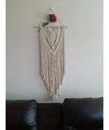 Bohemian Handcrafted Macrame Wall Hanging - $127.71