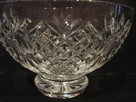 """Waterford Crystal Wedding Heirloom Footed Bowl 6"""" - $46.00"""