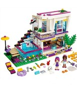 Girl's Club Pop Star Livi's House Building Block with Minifigs Action Figure Toy - $32.99