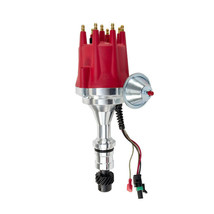 Pro Series R2R Distributor for Oldsmobile SB/BB, V8 Engine Red Cap