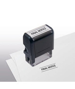 Final Notice Stock Title Stamp  - $12.50