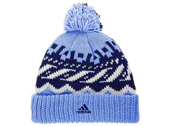New York City FC adidas MLS Soccer Team Sweater Pom NYC FC Winter Hat Beanie