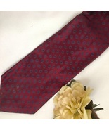 Karl Lagerfeld Red print men's silk business Tie - $44.95