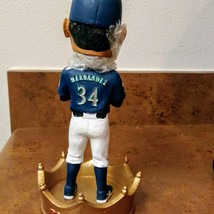 Seattle Mariners King  Felix Hernandez  Bobblehead  2017	Original Box Figurine  image 3