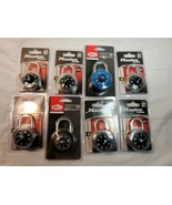 Master Lock 1500D & bell armory 100 Combination Lock Lot Of 8 storage lo... - $35.00