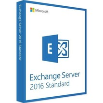 Exchange Server 2016 Standard Edition 64 Bit Complete with 250 User CAL ... - $985.05