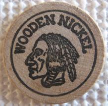 "Wooden Nickel From: ""Derby City Jim Beam Club"" - (sku#4969) - $7.50"