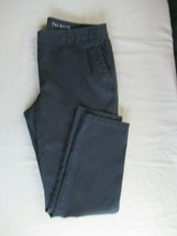 Talbots The Weekender pants cropped 12P navy blue straight leg - $14.65