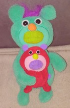 "The Sing-A-Ma-Jigs Duets Turquoise Plush with Red Puppy sings ""BINGO"" Song 2010 - $29.96"