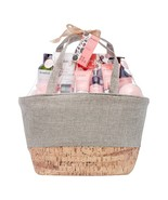 Aromanice Bloomfield Relaxing Bath Gift Tote bag, 11 Pieces - $50.00