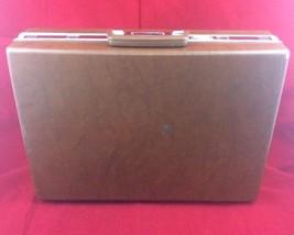 Vintage 1970's Samsonite Classic 100 Briefcase Brown  - $26.18