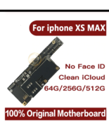 For iPhone XS Max Motherboard Without Face ID Original motherboard for i... - $317.26+