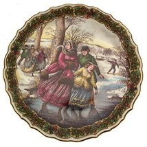 Spode The Victorian Christmas Series The Skaters CP494 - $49.69