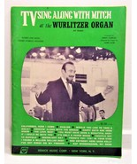 TV Sing Along with Mitch at the Wulitzer Organ - £5.89 GBP