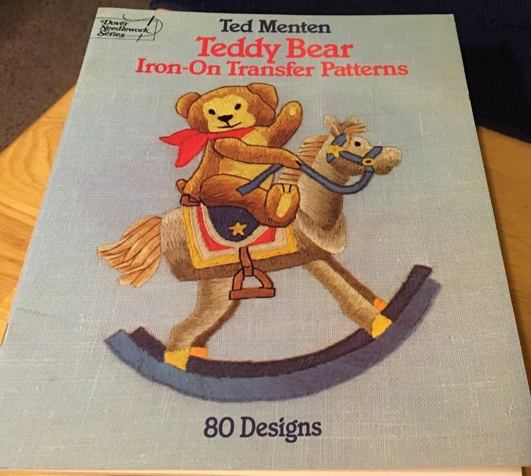 Primary image for Teddy Bear Iron-On Transfer Patterns by Ted Menten