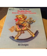 Teddy Bear Iron-On Transfer Patterns by Ted Menten - $6.79