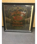 Vintage Jack Daniels Old Time Tennessee No 7 Whisky Tin W/ Glasses Sign Bar - $28.45