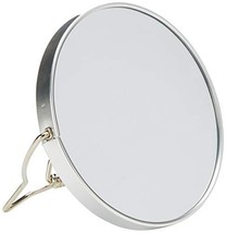 All About Men Chrome Shaving Mirror, 5x Magnification