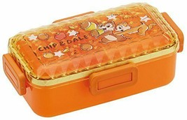 Dome Lid Lunch Box 530ml Diamond Cut Tip & Dale Disney Made In Japan Lim... - $42.06