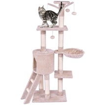 "56"" Condo Scratching Posts Ladder Cat Play Tree - £76.16 GBP"