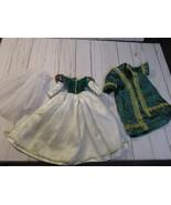 "D3 Disney Princess Snow White 18"" Porcelain Doll Replacement green Dress... - $19.79"