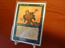 x1 MANES INFERNAUX/NETHER SHADOW 4th Edition 1995 MTG Playing Cards French - $4.94