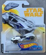 Hot Wheels 2018 Star Wars Carships MILLENNIUM FALCON - MIP - $8.95