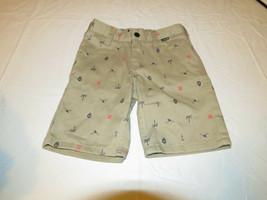 Hurley Boy's Youth shorts 981043-172 Bamboo khaki 4 school surf skate NWT - $36.71