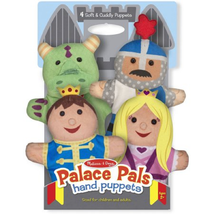 Melissa & Doug Palace Pals Hand Puppets (4) - P... - $25.73