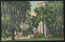 FL First Presbyterian Church Fort Lauderdale Florida Vintage Linen Postcard - $4.99