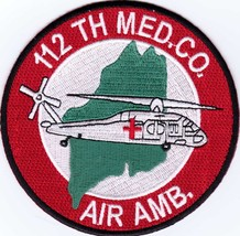 Army Patch - 112th Medical Company Air Ambulance Style #2:GA14-1 - $5.50