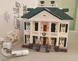 Dept 56 Snow Village American Architecture 1991 SOUTHERN COLONIAL 54038 ... - $32.00