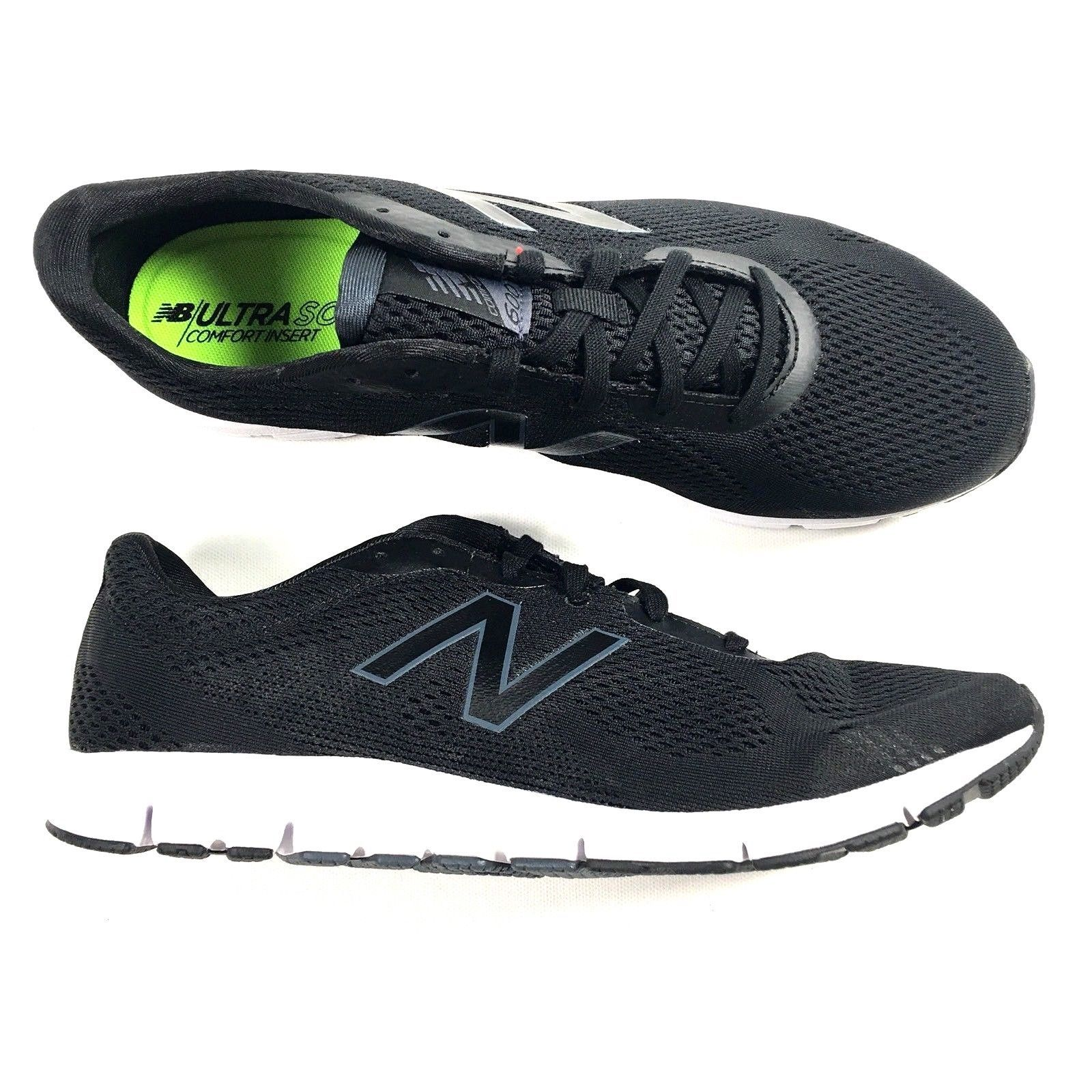 New Balance Running Shoes 600v2 Mens Size 9 Black W600EB2 Black - $55.74