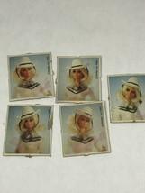 """Vintage Barbie Mattel 1980 """"Autographed"""" Western Barbie Publicity Photos - $5.89"""