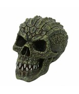 Pacific Giftware Mutated Scaly Lizard Man Gator Head Skull Collectible R... - $29.69