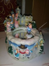 San francisco Music Box Winterfrost Village Twirly- In original packagin... - $72.75