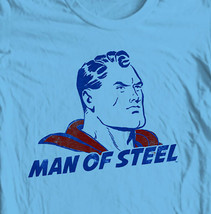 Vintage Superman Man of Steel T-shirt Classic Golden Age DC comics tee SM1922 image 1
