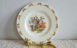 Cute Vintage Royal Doulton Bunnykins Decorate Collectible Plate 7 3/4 inch - $9.99