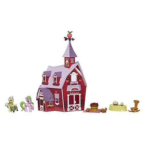 My Little Pony Friendship is Magic Collection Sweet Apple Acres Barn Pack (Disco