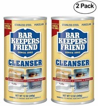 Bar Keepers Friend All-Purpose Cleaner - Polish 12 oz 2-Pack - $10.64
