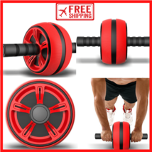 NEW No Noise Silent Abdominal Wheel Roller Gym Fitness Equipment. - £21.13 GBP